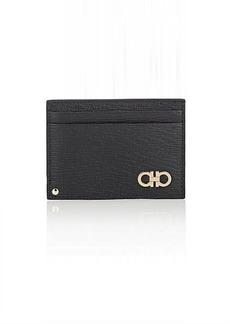 Salvatore Ferragamo Men's Revival Card Case - Black