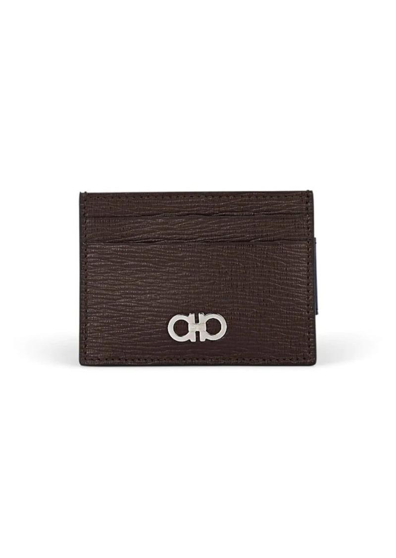 the latest 11f14 964d9 Salvatore Men's Revival Leather Card Case & Money Clip - Wine