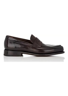 Salvatore Ferragamo Men's Rinaldo Leather Penny Loafers