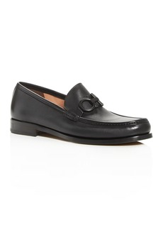 Salvatore Ferragamo Men's Rolo Gancini Bit Leather Moc-Toe Loafers - 100% Exclusive - Regular