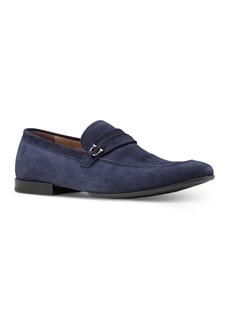 Salvatore Ferragamo Men's Raion Suede Slip On Loafers - Regular