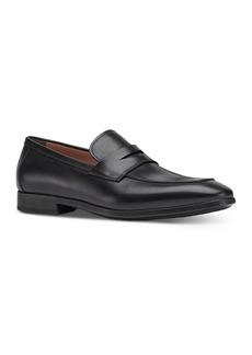 Salvatore Ferragamo Men's Recly Leather Slip On Penny Loafers - Regular