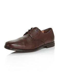 Salvatore Ferragamo Men's Spencer Plain-Toe Leather Oxfords - Regular