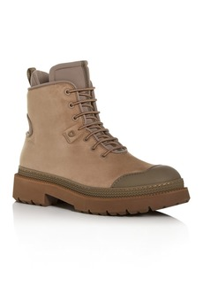 Salvatore Ferragamo Men's Tolk Suede Hiking Boots