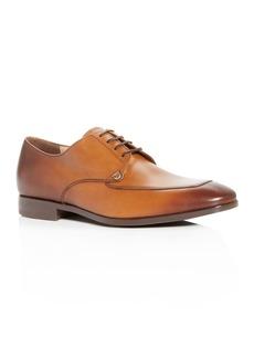 Salvatore Ferragamo Men's Tristano Leather Apron-Toe Oxfords - 100% Exclusive