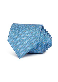 Salvatore Ferragamo Micro-Gancini Silk Classic Tie