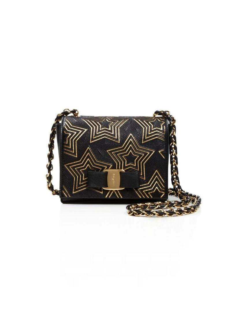 a2f52d77b2b Ferragamo Salvatore Ferragamo Mini Ginny Stars Shoulder Bag