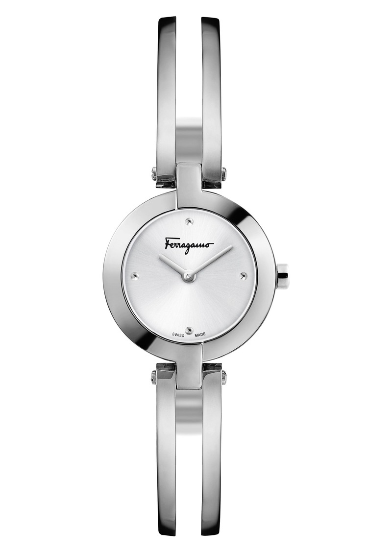 82579be5a864c Ferragamo Salvatore Ferragamo Miniature Bracelet Watch, 26mm | Jewelry