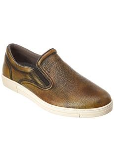 Salvatore Ferragamo Miraggio Leather Slip-On Sneaker