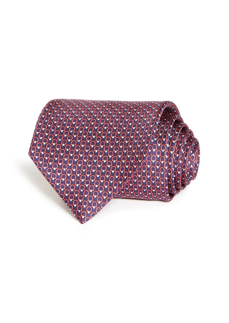 Salvatore Ferragamo Multi Gancini Silk Classic Tie