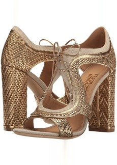 Nappa Interwoven High-Heel Sandal