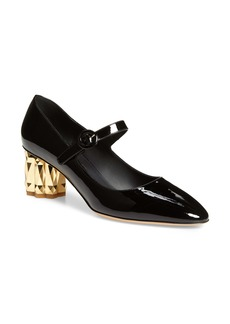 Salvatore Ferragamo Ortensia Mary Jane Pump (Women)