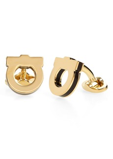 Salvatore Ferragamo Panini Cuff Links