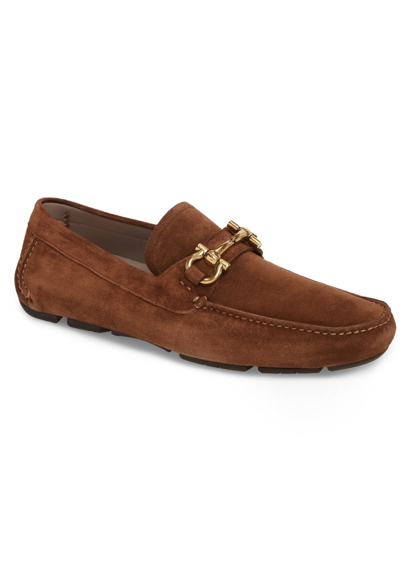 Salvatore Ferragamo Parigi Bit Driving Moccasin (Men)