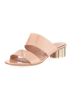Salvatore Ferragamo Belluno Patent Leather 30mm Sandals