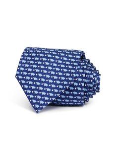 Salvatore Ferragamo Piggy Banks Silk Classic Tie