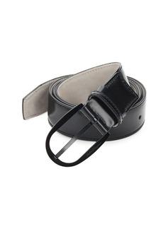 Ferragamo Polished Leather Belt