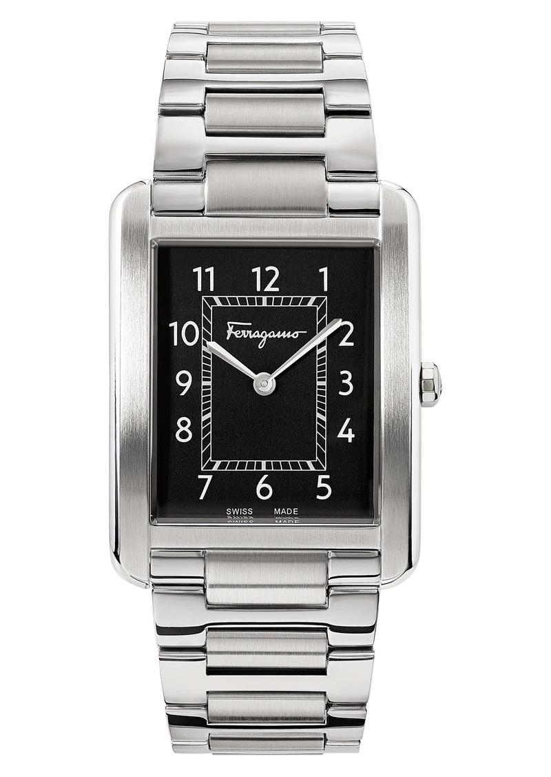 Salvatore Ferragamo Portrait Bracelet Watch, 31mm x 41mm