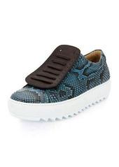 Salvatore Ferragamo Python Runway Sneaker on Archival Sole