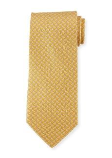 Ferragamo Rabbit-Pattern Silk Tie