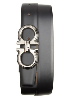 Salvatore Ferragamo Rainbow Double Gancio Belt
