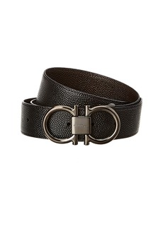 Salvatore Ferragamo Reversible & Adjustable Gancini Leather Belt