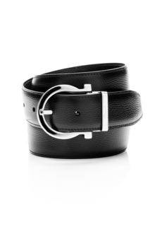 Salvatore Ferragamo Men's Reversible Leather Belt