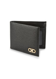 Ferragamo Revival Bi-Fold Leather Wallet