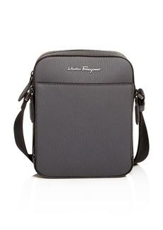 Salvatore Ferragamo Revival Coated Leather Messenger Bag