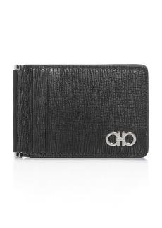 Salvatore Ferragamo Revival Gancini Folding Leather Card Case