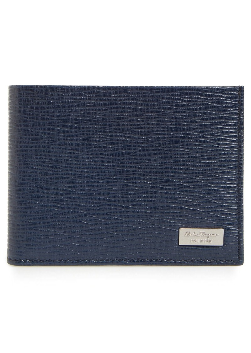 Salvatore Ferragamo 'Revival' Leather Bifold Wallet