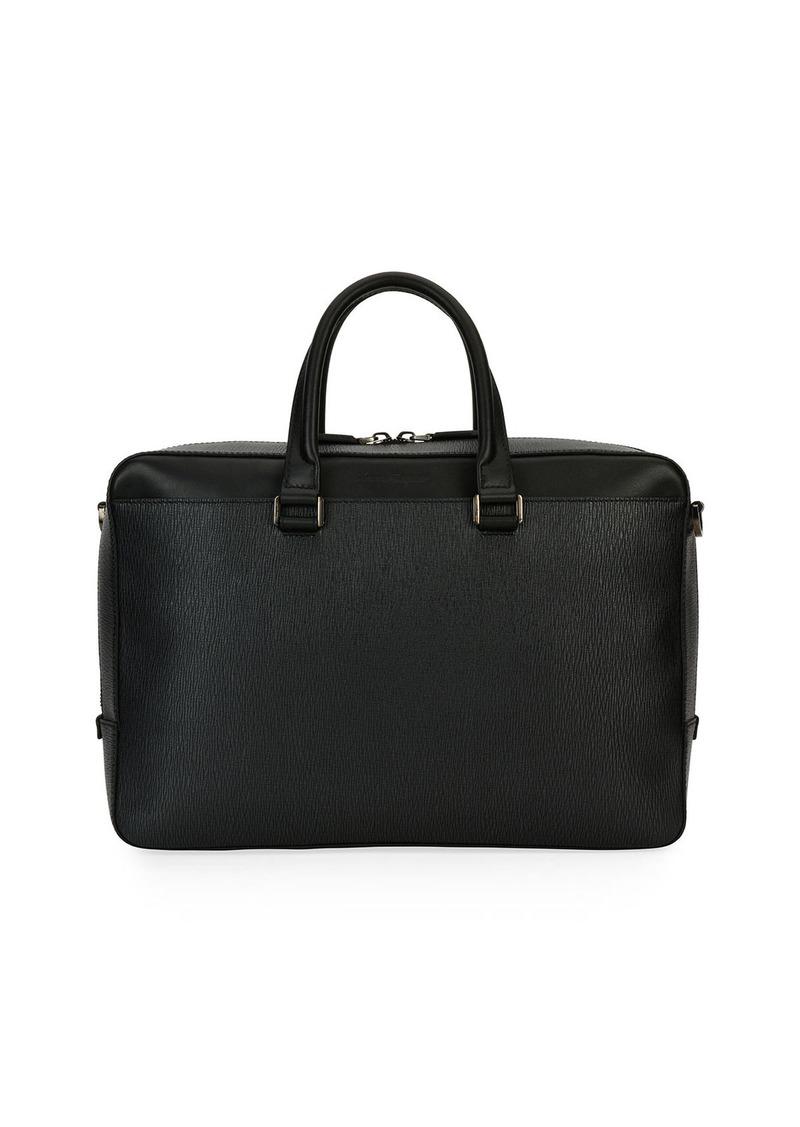 4c10a8370376 Ferragamo Salvatore Ferragamo Revival Leather Laptop Briefcase | Bags