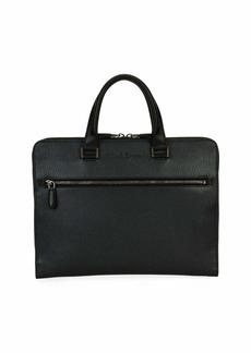 Ferragamo Men's Revival Slim Leather Briefcase