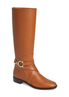 Salvatore Ferragamo Sarah Knee High Boot (Women)