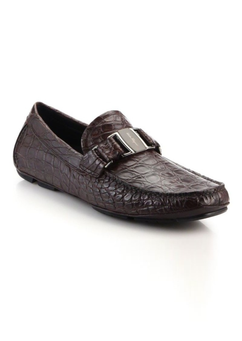 22b19ca15dd7a Ferragamo Salvatore Ferragamo Sardegna 2 Crocodile Loafers | Shoes
