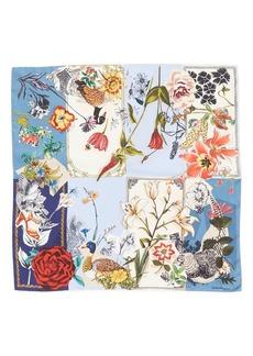 Salvatore Ferragamo Scrapbook Silk Scarf