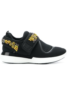 Ferragamo sequin embellished sneakers