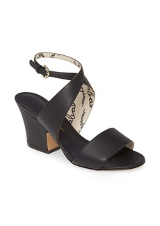 Salvatore Ferragamo Sheena Cross Strap Sandal (Women)