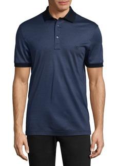 Ferragamo Short Sleeve Cotton Polo