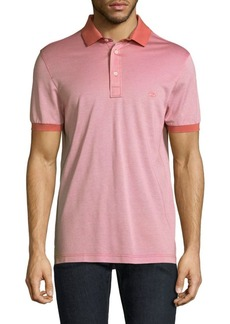 Ferragamo Short Sleeve Cotton Polo