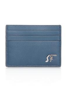 Salvatore Ferragamo Signature Leather Card Case