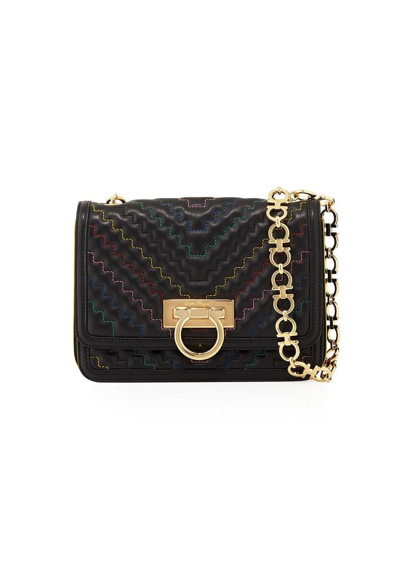 Ferragamo Salvatore Medium Quilted Flap Bag Handbags bb94633d8d214