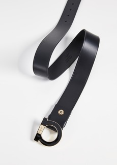 Salvatore Ferragamo Single Enamel Gancini Belt