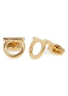 Salvatore Ferragamo Single Gancio Cuff Links