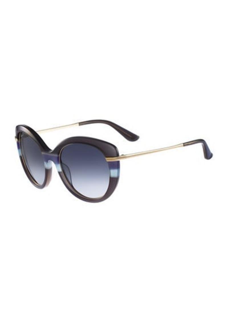 c673a86bc24 Ferragamo Salvatore Ferragamo Slight Cat-Eye Sunglasses