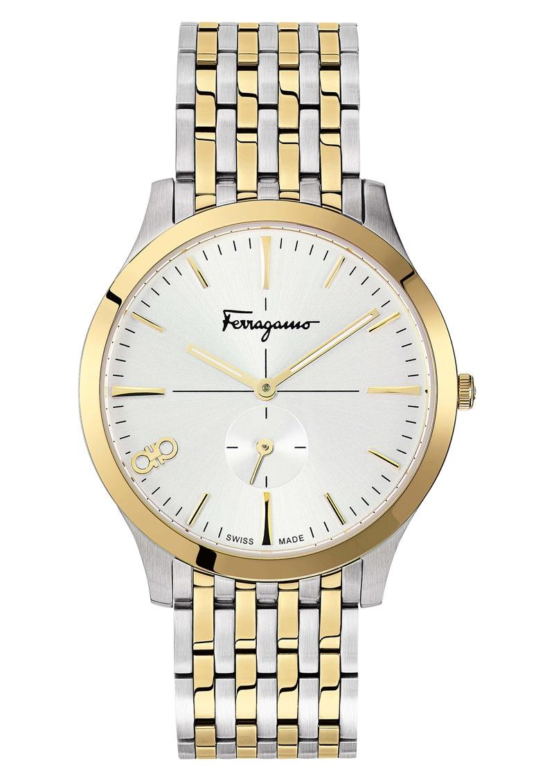 Salvatore Ferragamo Slim Bracelet Watch, 40mm