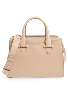 Salvatore Ferragamo Small Today Leather Satchel