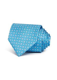 Salvatore Ferragamo Snowflakes Silk Classic Tie - 100% Exclusive