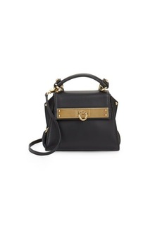 Salvatore Ferragamo Sofia Leather Mini Bag
