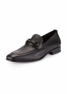 Ferragamo Men's Soft Calfskin Gancini Loafer